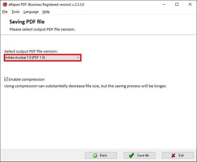 pdf repair program free